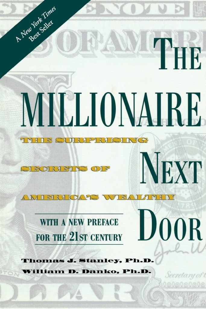 The Millionaire Next Door - must read books for an entrepreneur