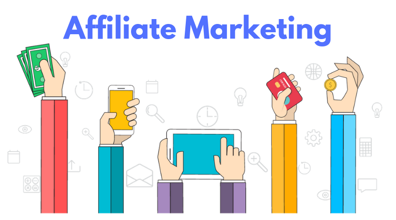Affiliate marketing as a way to make money online in India
